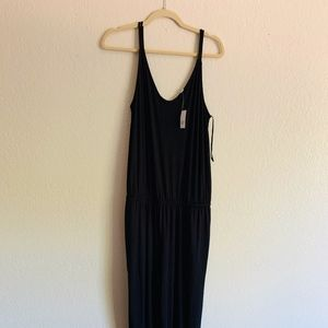 Gap Strappy Cami Jumpsuit in Black (Tall Size)